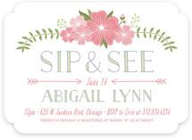 Flowery Sip & See