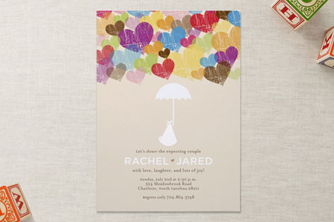A lovely arrival baby shower invitations by katie minted a lovely arrival baby shower invitations filmwisefo Image collections