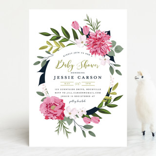 Summer Shower Baby Shower Invitations