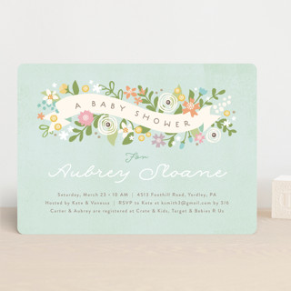 Rites Of Spring Baby Shower Invitations By Jennife Minted