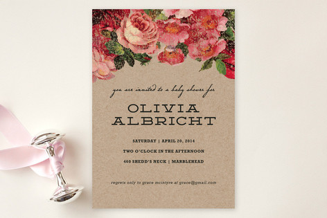 The Porch Baby Shower Invitations