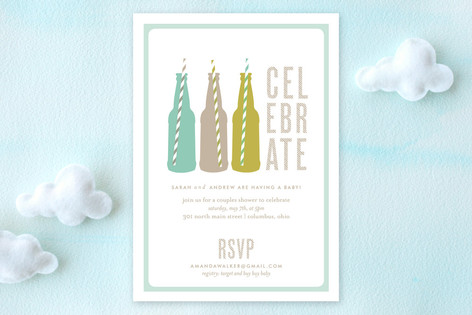 Suds Baby Shower Invitations