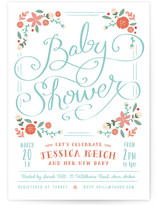 Vintage garden baby shower invitations by lori wem minted filmwisefo Images