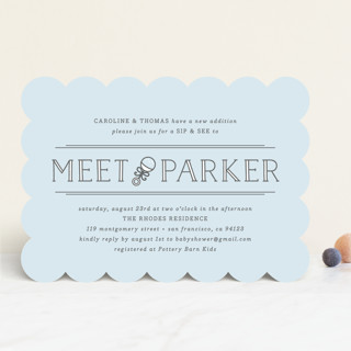 Meet Greet Baby Shower Invitations By Bourne Pap Minted