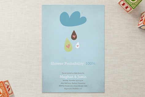 shower probability Baby Shower Invitations