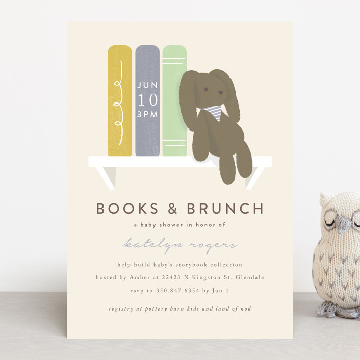 Bunny Books And Brunch Baby Shower