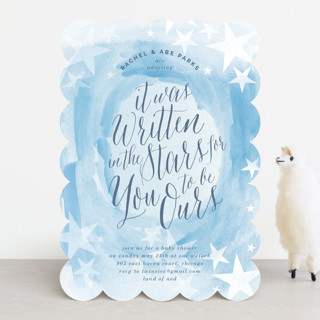 You are Ours Baby Shower Invitations