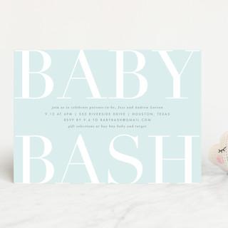 Big Bash Baby Shower Invitations