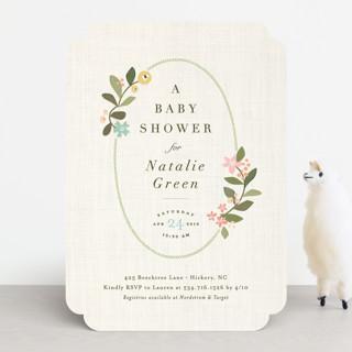Novel Tradition Baby Shower Invitations