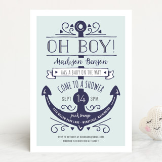 Oh boy baby shower invitations by jeanna casper minted oh boy baby shower invitations filmwisefo