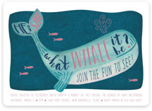 Gender Reveal Whale
