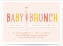 cheap baby shower invitation