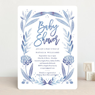 Blooming Baby Baby Shower Invitations