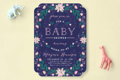Southern Charm Baby Shower Invitations