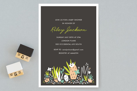Agave Bebe Baby Shower Invitations