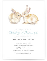 Snuggling Bunnies by Lauren Rogoff