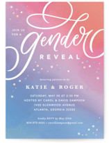 This is a pink baby shower invitation by Kristen Smith called Chroma with standard printing on signature in standard.