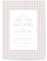 This is a pink baby shower invitation by Lea Delaveris called Charming with standard printing on signature in standard.