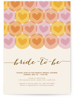 Baby Love Bridal Shower Invitations