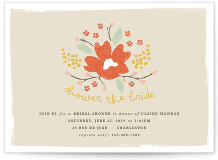 Shower the Bride Bridal Shower Invitations