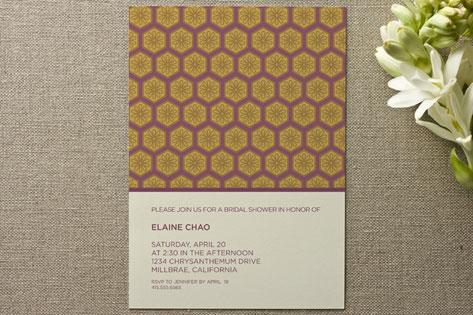 Dynasty Bridal Shower Invitations