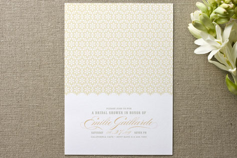 Ella-gant Bridal Shower Invitations