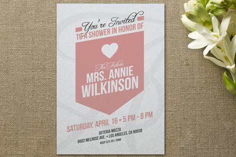 the future mrs Bridal Shower Invitations