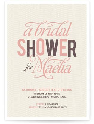 Jolie Bridal Shower Invitations