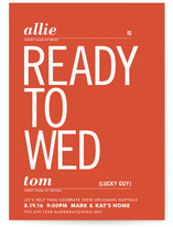 Ready to Wed by pottsdesign
