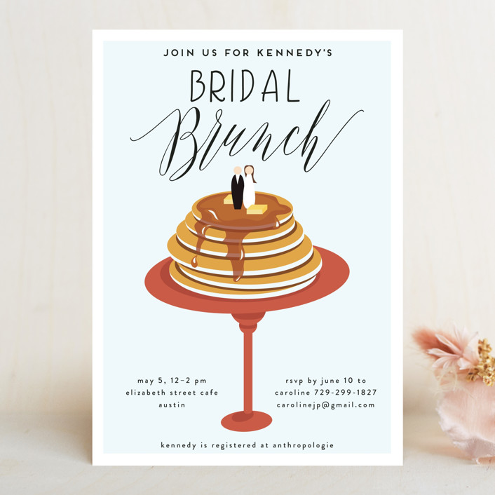 bridal brunch bridal shower invitations by haley warner minted