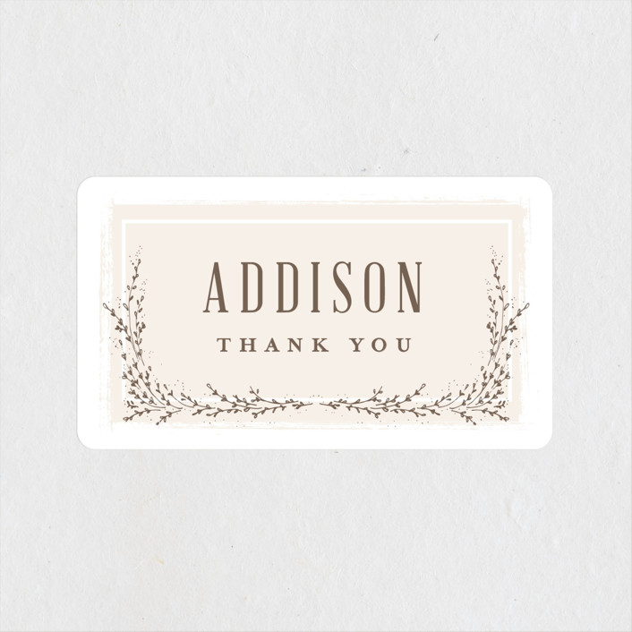 """""""positano"""" - Bridal Shower Stickers in Champagne by chocomocacino."""