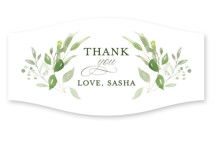 This is a green custom sticker by Leah Bisch called Verdure with standard printing on uncoated sticker paper in sticker.