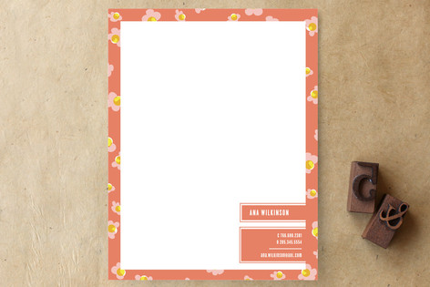 Floral Fiesta Business Stationery