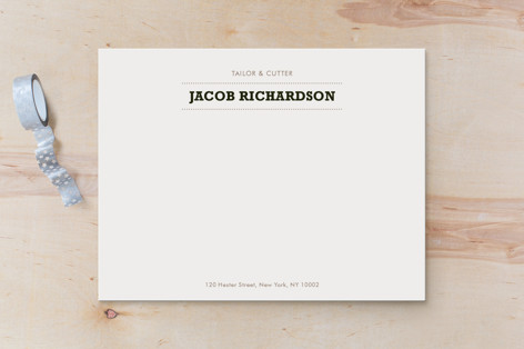 Sartorialist Business Stationery