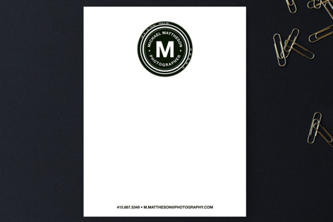 Shooter Business Stationery