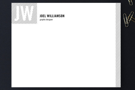 Type Strype Business Stationery