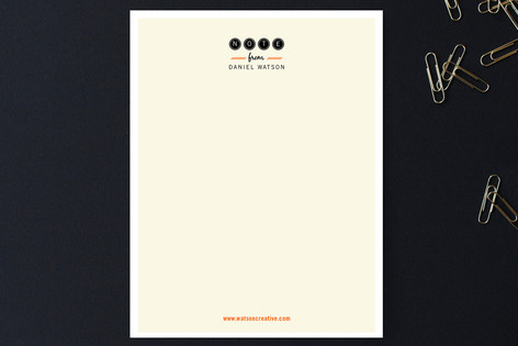 Friendly Type Business Stationery
