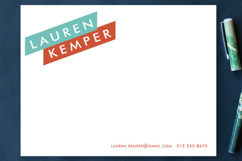 Broad Strokes Business Stationery