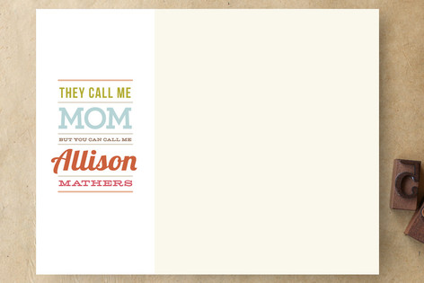 Call Me Al Business Stationery