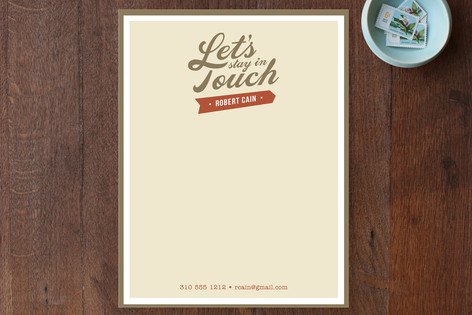 Stay in Touch Business Stationery