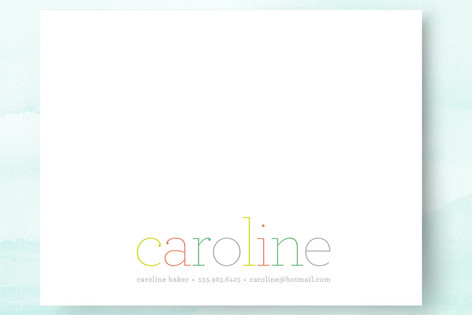 Colorful Dots Business Stationery