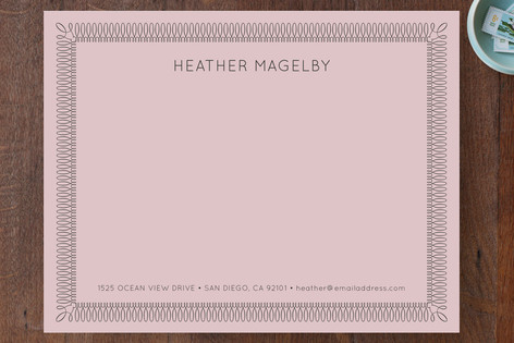 Certified Business Stationery