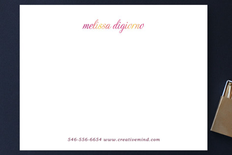 Smoldering Business Stationery