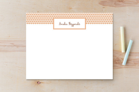 Paprika Patterned Business Stationery