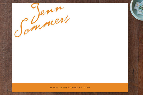 Antique Copperplate Business Stationery
