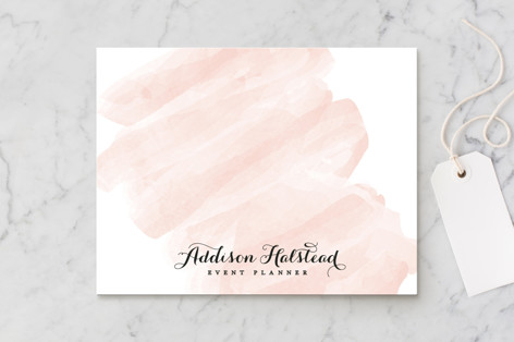 Pink Wash Business Stationery