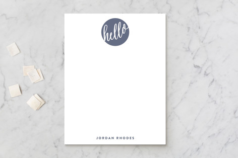 Hello New Friend Business Stationery
