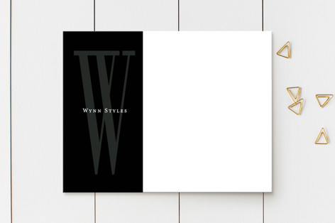 Minimalist Chic Business Stationery