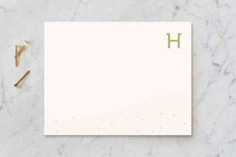 Initial Business Stationery
