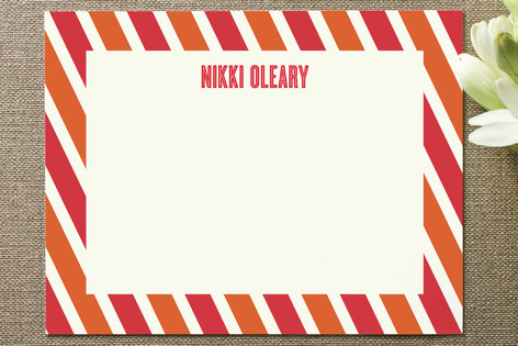Candy Stripe Business Stationery